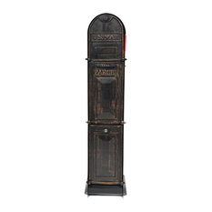Ore Mailboxes MailParcelVault, Classic Shadow, 5-Door, Gold