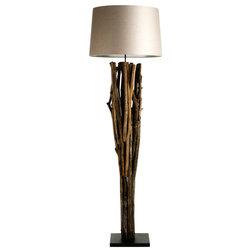 Spectacular Rustic Floor Lamps by Zentique Inc