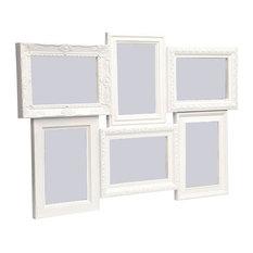 Magic 6 Multi Photo Frame, White, 360x520x25 mm