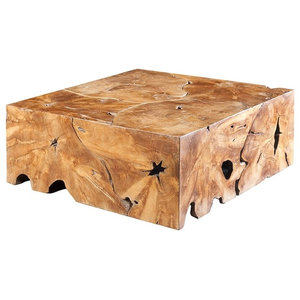 Groovy Vincente Cocktail Table Square Rustic Coffee Tables By Pdpeps Interior Chair Design Pdpepsorg