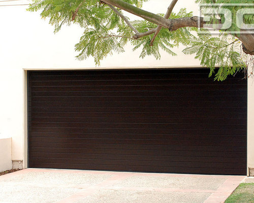 Superior Los Angeles, CA Custom Modern Garage Doors U0026 Matching Entry Door System  Project!