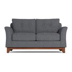 Marco Apartment Size Sleeper Sofa, Innerspring Mattress, Smoke