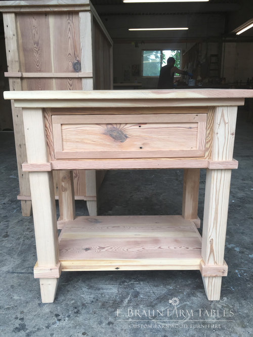bedroom furniture crafted of reclaimed barn wood nightstands and