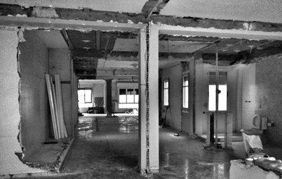 Antes y después: Una nueva casa para un arquitecto joven