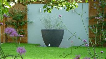 contemporary garden in Wandsworth