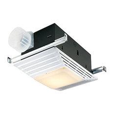 Broan 655 Heater Bath Fans With Light, 70 Cfm