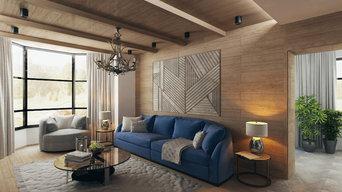 Проект частного дома площадью 250 кв. м.