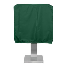 WeathermaxPedestal Barbecue Cover, Forest Green