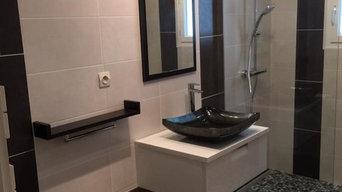 Salle de bains chambre d'hôte