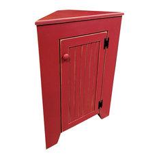 Corner Cabinet, Old Red