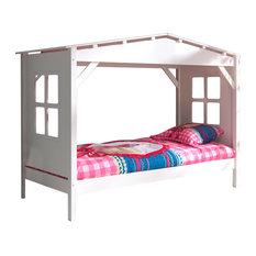 Pino Cabin Bed, White
