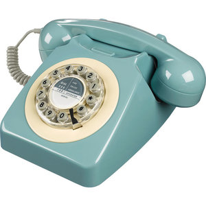 Wild & Wolf Series 746 Telephone, French Blue