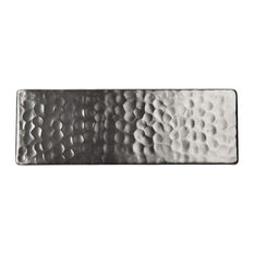 "The Copper Factory Cf145Sn Solid Hammered Copper Decorative Accent Tile, 6""X2"""