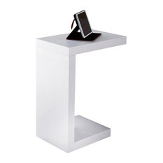 Classic Stylish Nspired Style Black Hollow-Core Table Home Furniture 2489 Whi