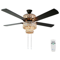 Transitional Ceiling Fans by River of Goods