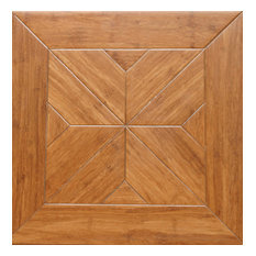 Engineered Parquet Bamboo Flooring, Estate, Set of 10