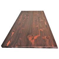 "Rustic Wooden Dining Table top 52""x 24""x 1.5""  Mahogany colors"