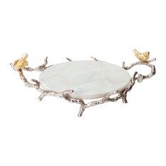 "Alvada Decorative Marble Tray 17""x10""x6"""