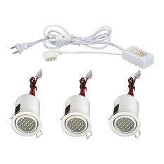 Minilite Kit 3-Light, Adj, LED, White