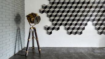 Цементная плитка Cube, коллекция Geo