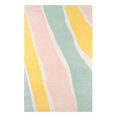 Transitional Rug, Novogratz Delmar Multi-Color, Wool, 8'x10'