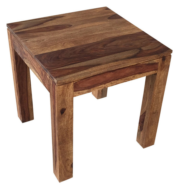 Solid Sheesham Wood Accent Table
