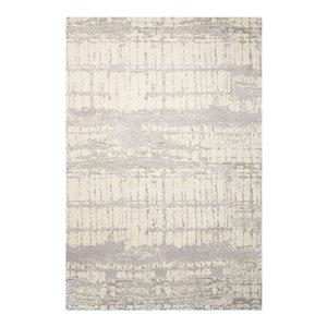 Twilight TWI10 Rug, Ivory/Grey, 168x244 Cm