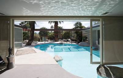 Midcentury Marvel: Is That a Pool in the Living Room?