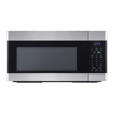 1.8 CF 1100W Over-the-Range Microwave Oven, Stainless Steel