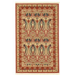 """Unique Loom - Unique Loom Carnation Edinburgh Area Rug, Rust Red, 3'3""""x5'3"""" - The classic look of the Edinburgh Collection is sure to lend a dignified atmosphere to your home. With an array of colors and patterns to choose from, there�s a rug to suit almost any taste in this collection. This Edinburgh rug will tie your home�s decor together with class and amazing style."""