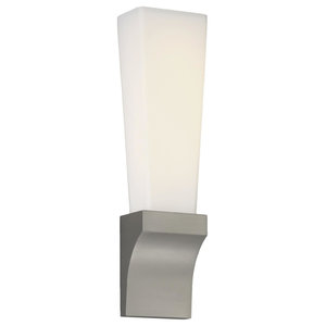 WAC Lighting Empire LED Wall Sconce in Satin Nickel