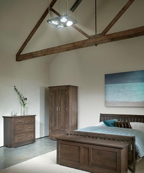 Quercus Solid Oak Bedroom Furniture Oak Wardrobe Oak Blanket Box Oak Chest