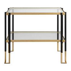 Kentmore Glass Side Table
