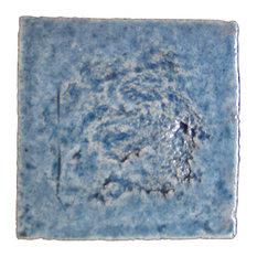 Crystalline Tiles, Pastel Blue, Set of 4
