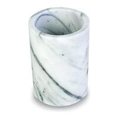 White Marble Utensil Holder