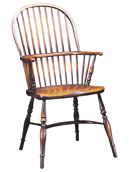 Stick Back Windsor Chair Turned Stumps   Dining Chairs