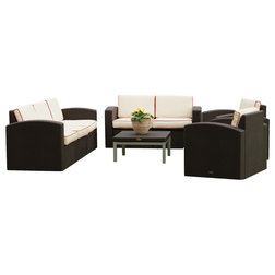 Tropical Outdoor Lounge Sets by Strata Furniture
