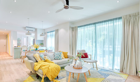 Houzz Tour: Sherbet-y Colours Pretty Up This Family Condo