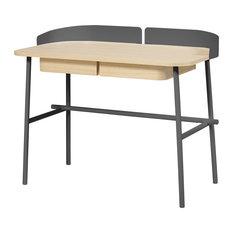 HARTO Victor Desk, Slate Grey Accents