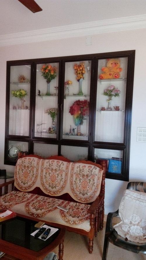 Superior Living Room Showcase Design