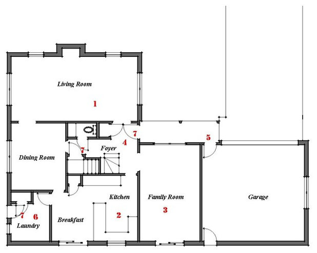Floor Plan By Bud Dietrich AIA