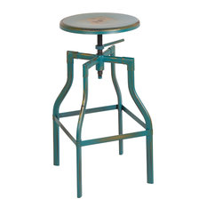 fice Star Products Eastvale Metal Bar Stool Antique Turquoise Bar Stools And Counter