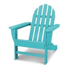 Polywood Classic Adirondack Chair, Aruba