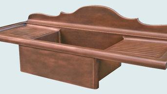 Copper Sink | Handcrafted Metal