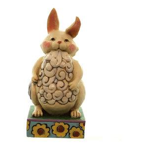 Jim Shore Pint Sized Christmas Bunny Figurine ~No Bunny/'s More Festive~ 4053822