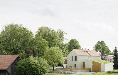Architektur: Modernes Allgäu! Neubau in der Nachbarschaft alter Bäume