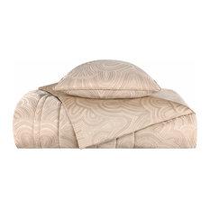 Покрывало и декоративные подушки, Ар Деко.