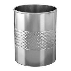 nu steel Hammered Utensil Holder, Stainless Steel