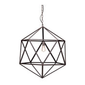 Amethyst Ceiling Lamp, Large