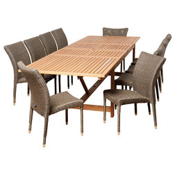 Tropical Outdoor Dining Sets by Homesquare